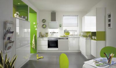 Modern Kitchen Küchentime Pura 834 Line N