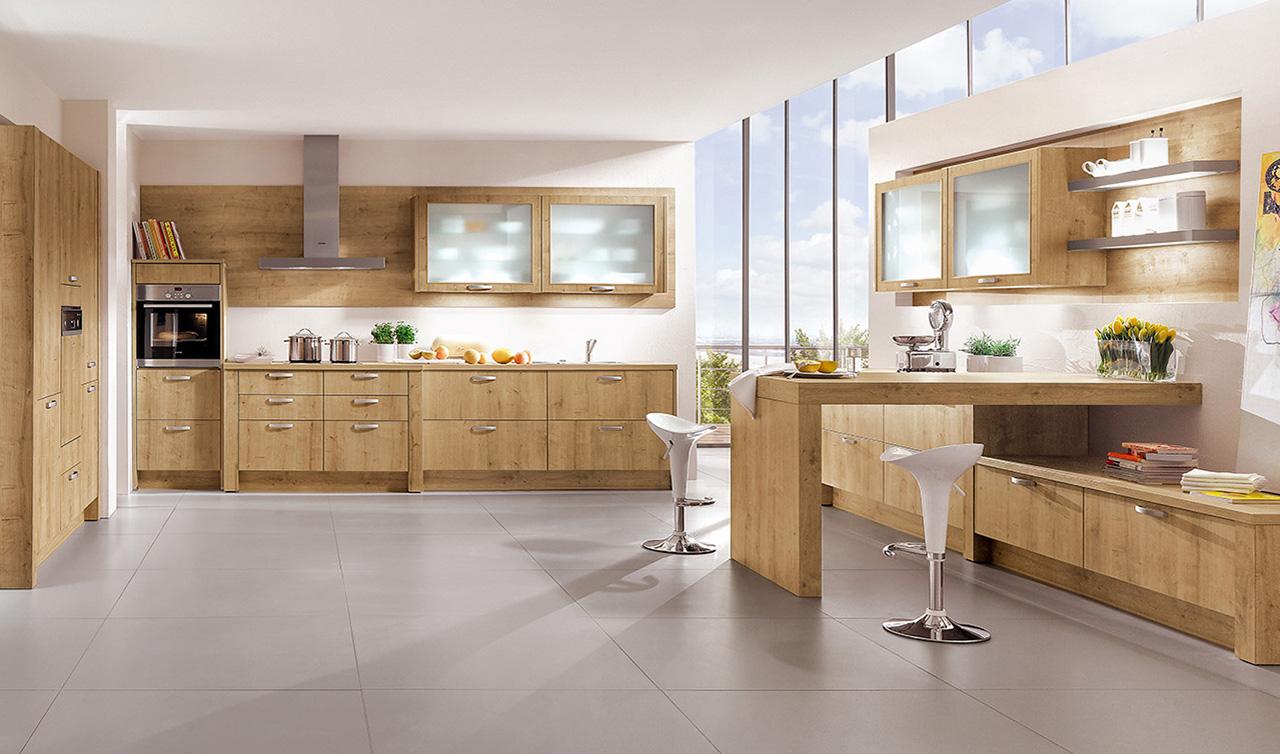 Modern Kitchen Kuchentime Rio 698