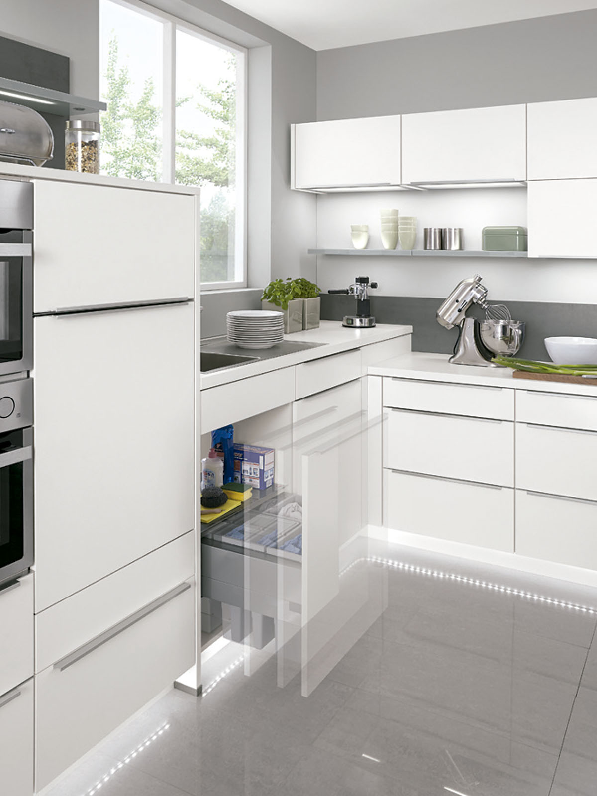 Modern Kitchen Küchentime Touch 332