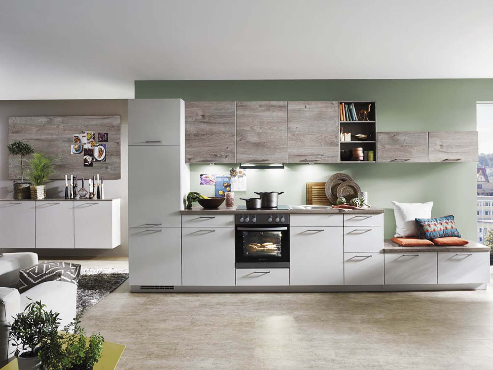 Modern Kitchen Küchentime Touch 338
