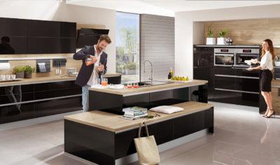 Modern Kitchen Kuchentime Focus 472 Line N