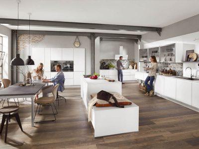 Modern Kitchen Küchentime Inline 551