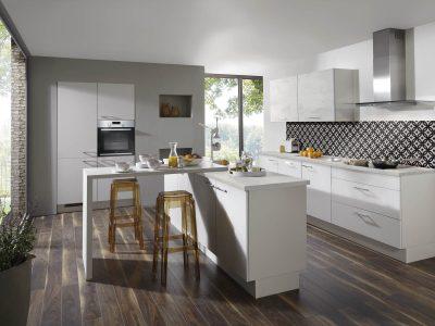 Modern Kitchen Küchentime Laser 417