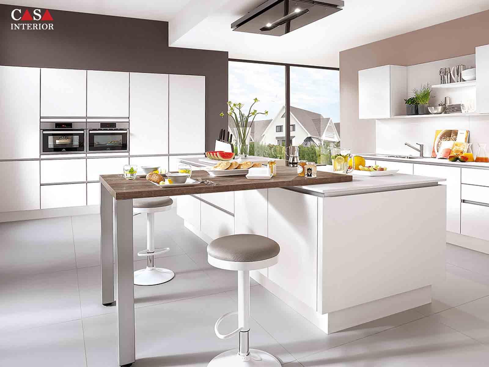 Modern Kitchen Küchentime Laser 427