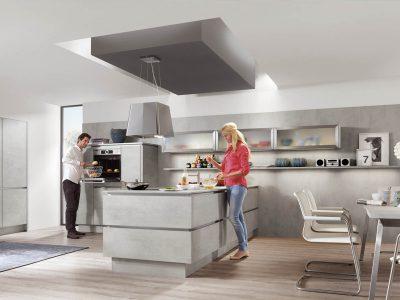 Modern Kitchen Küchentime Riva 892