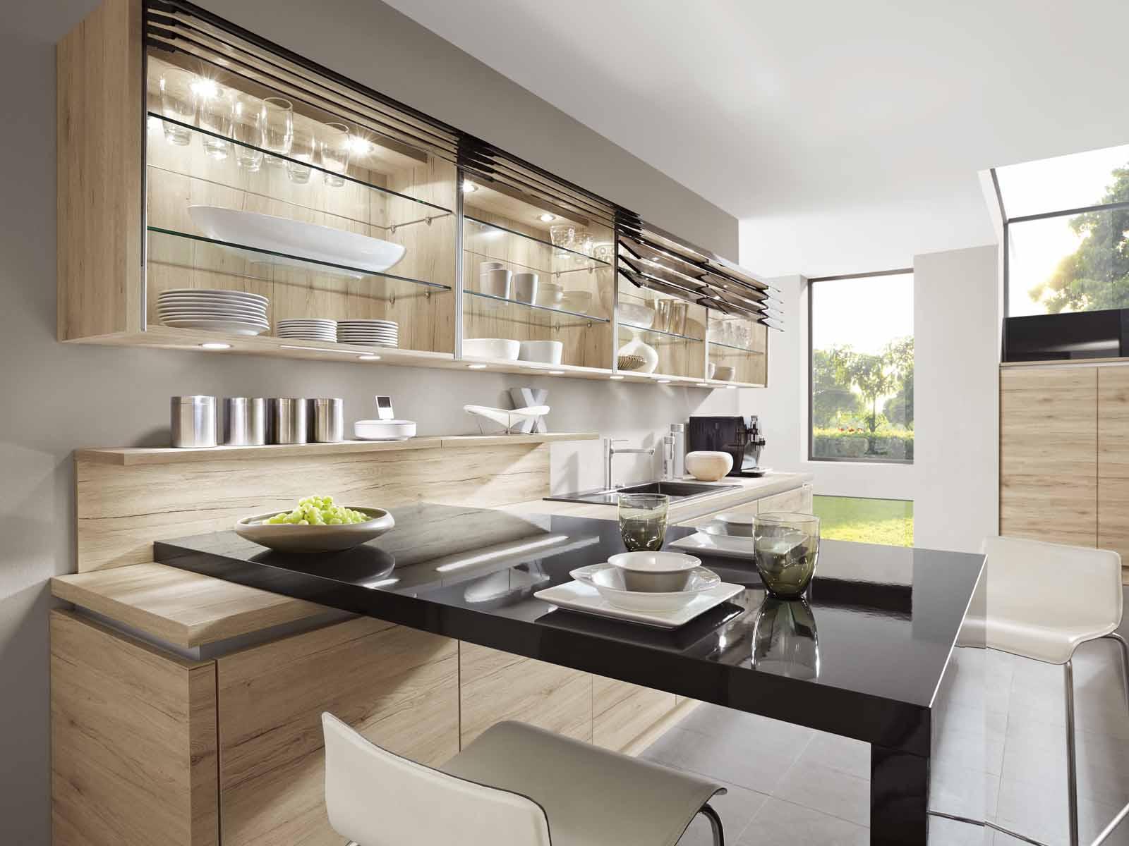 Modern Kitchen Küchentime Riva 893 Line N