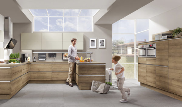 Modern Kitchen Kuchentime Riva 894 Line N