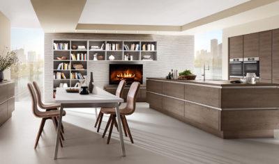 Modern Kitchen Küchentime Structura 400 Line N
