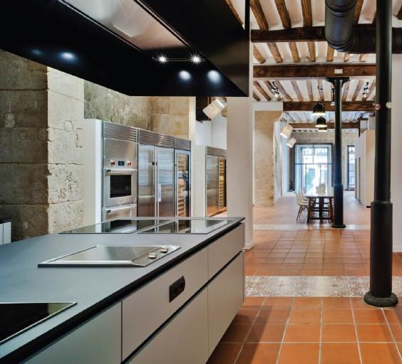 Wolf SubZero Living Kitchen in Alicante, May 2018