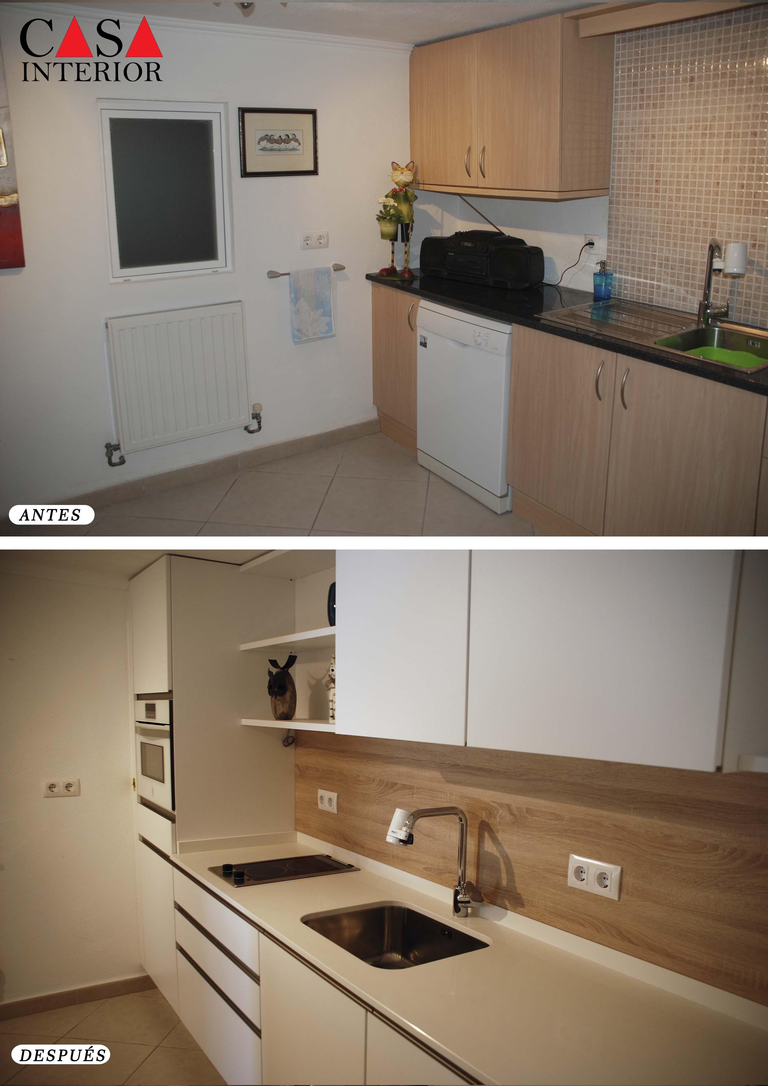 Casa Interior Küchentime Fashion Blanco Alpino