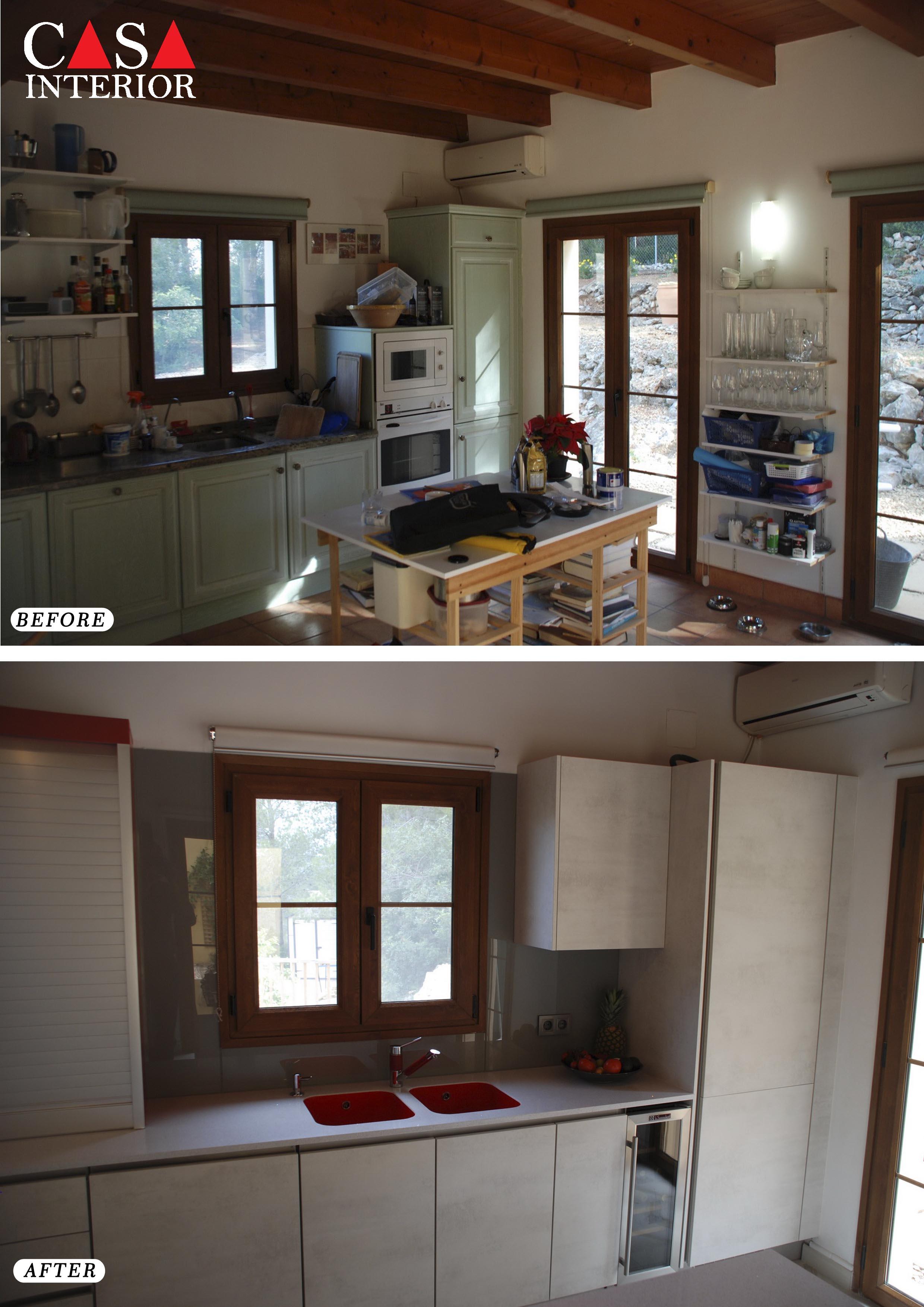Küchentime Riva White Concrete N Line