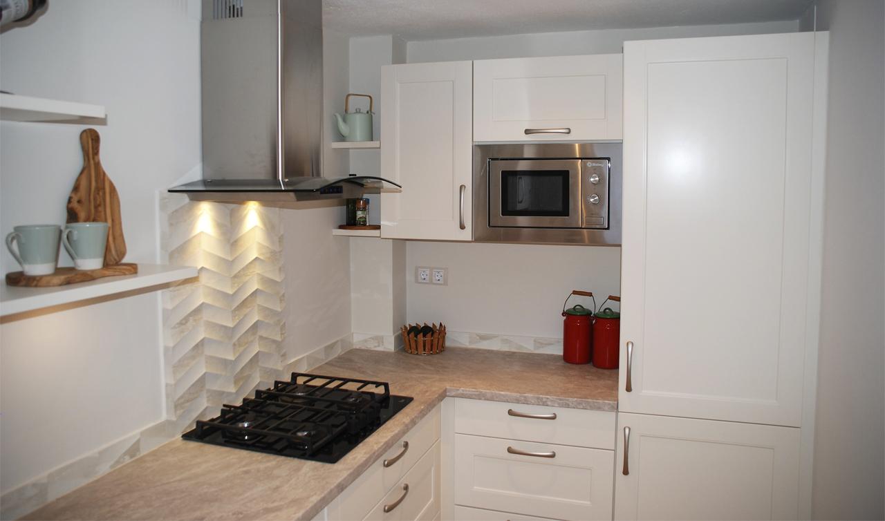 Küchentime Lucca Ivory Matt