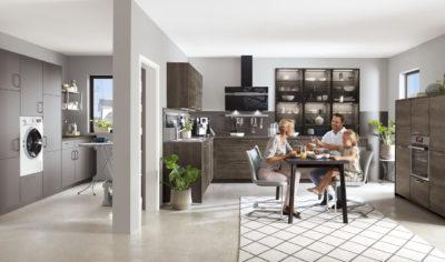 Modern Kitchen Küchentime Riva 888