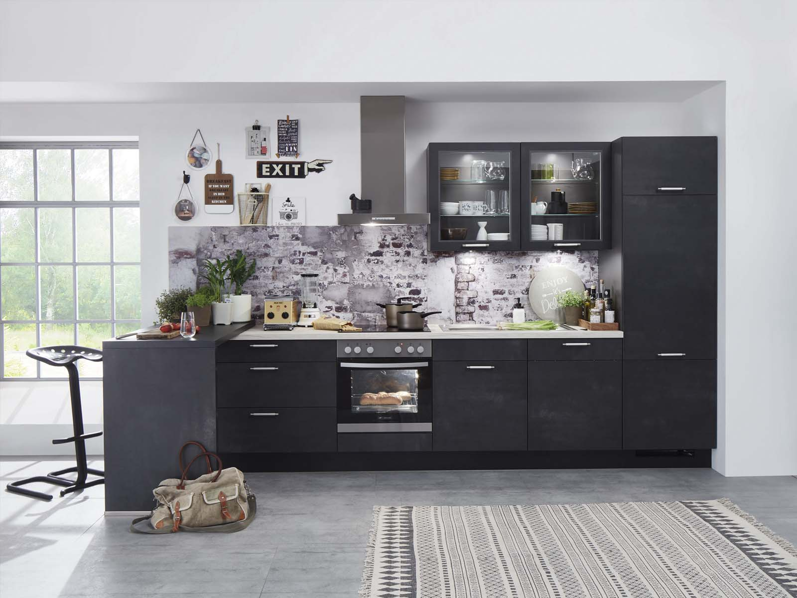 Modern Kitchen Küchentime Speed 288