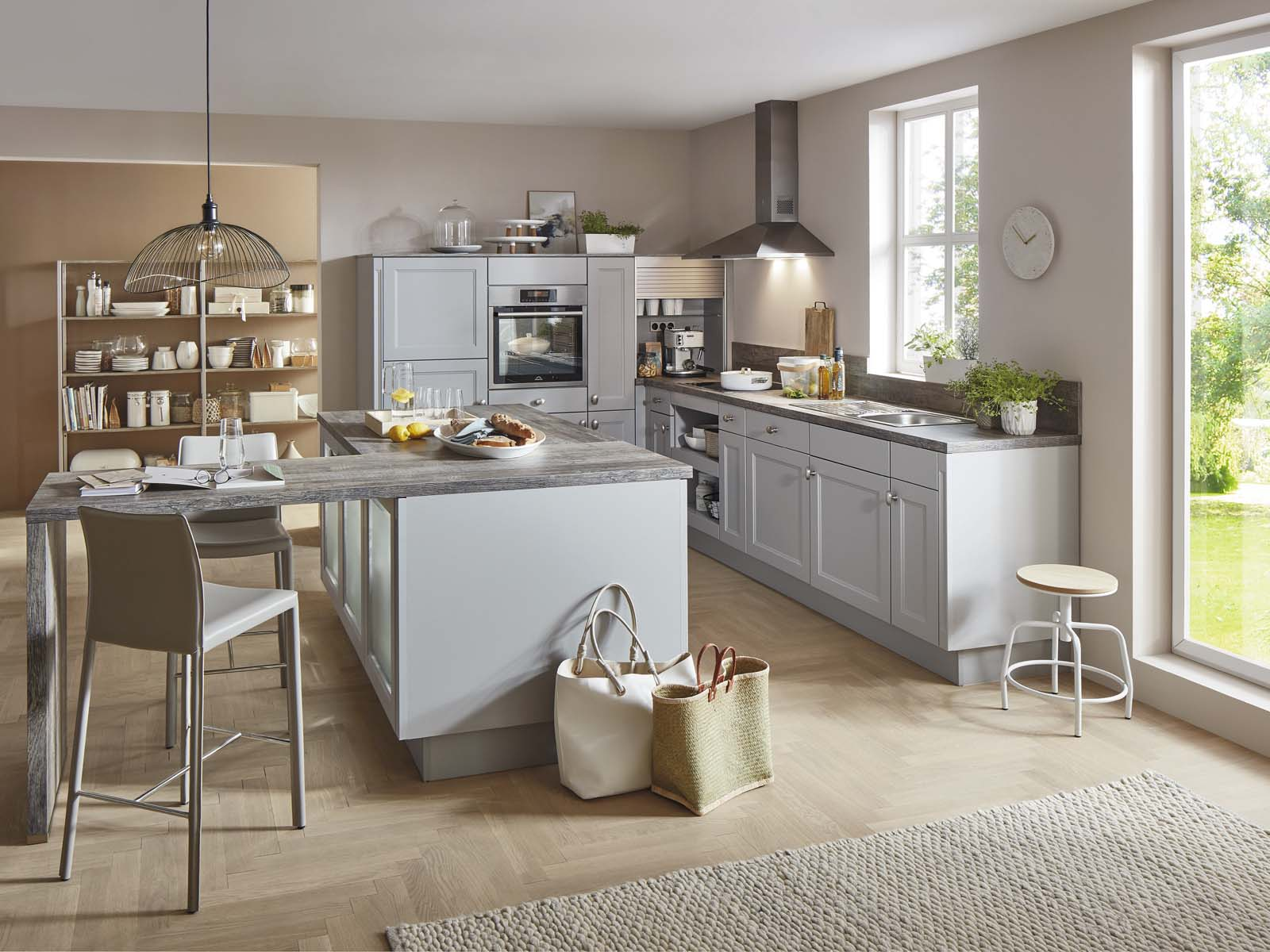 Modern Kitchen Küchentime Cascada 772