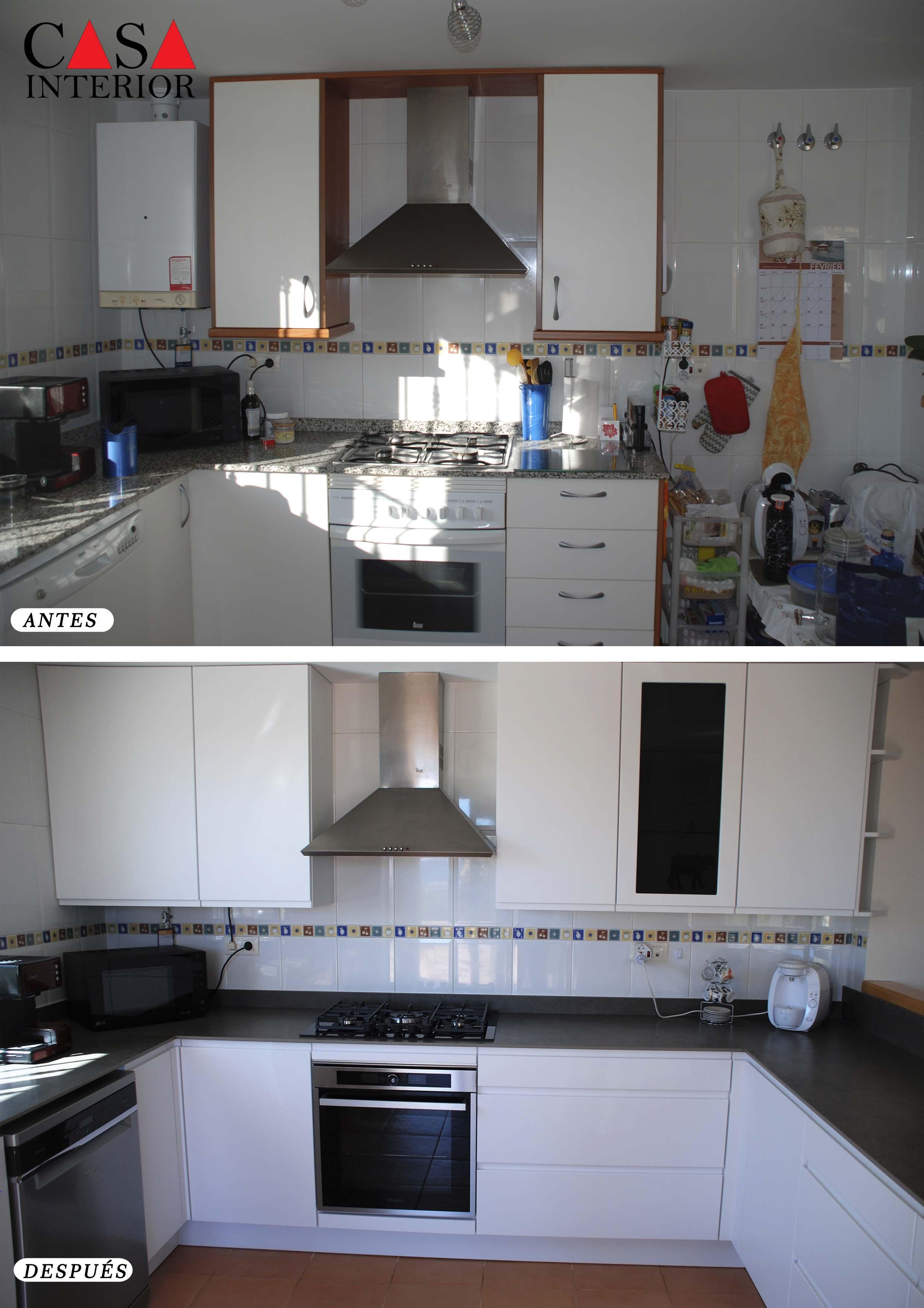 Küchentime Inline Blanco Alpino en Polop