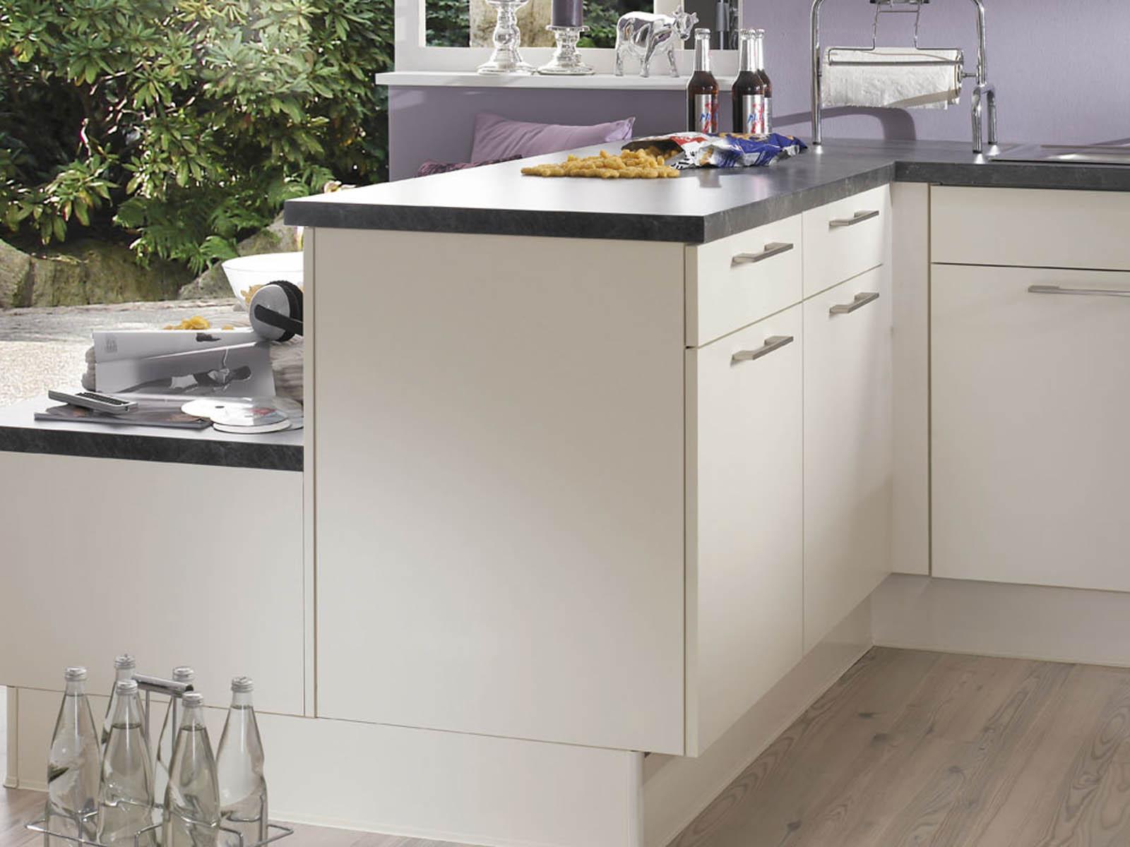 Modern Kitchen Küchentime Laser 418