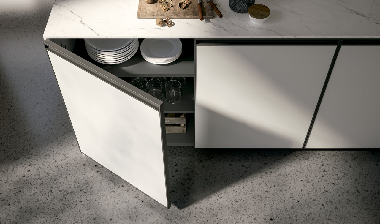 Modern Kitchen Arredo3 Kronos Model 1