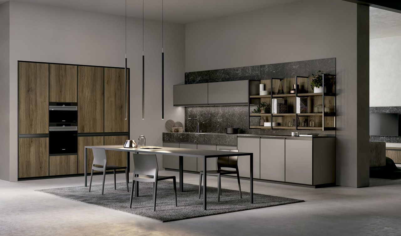 Modern Kitchen Arredo3 Kronos Model 3