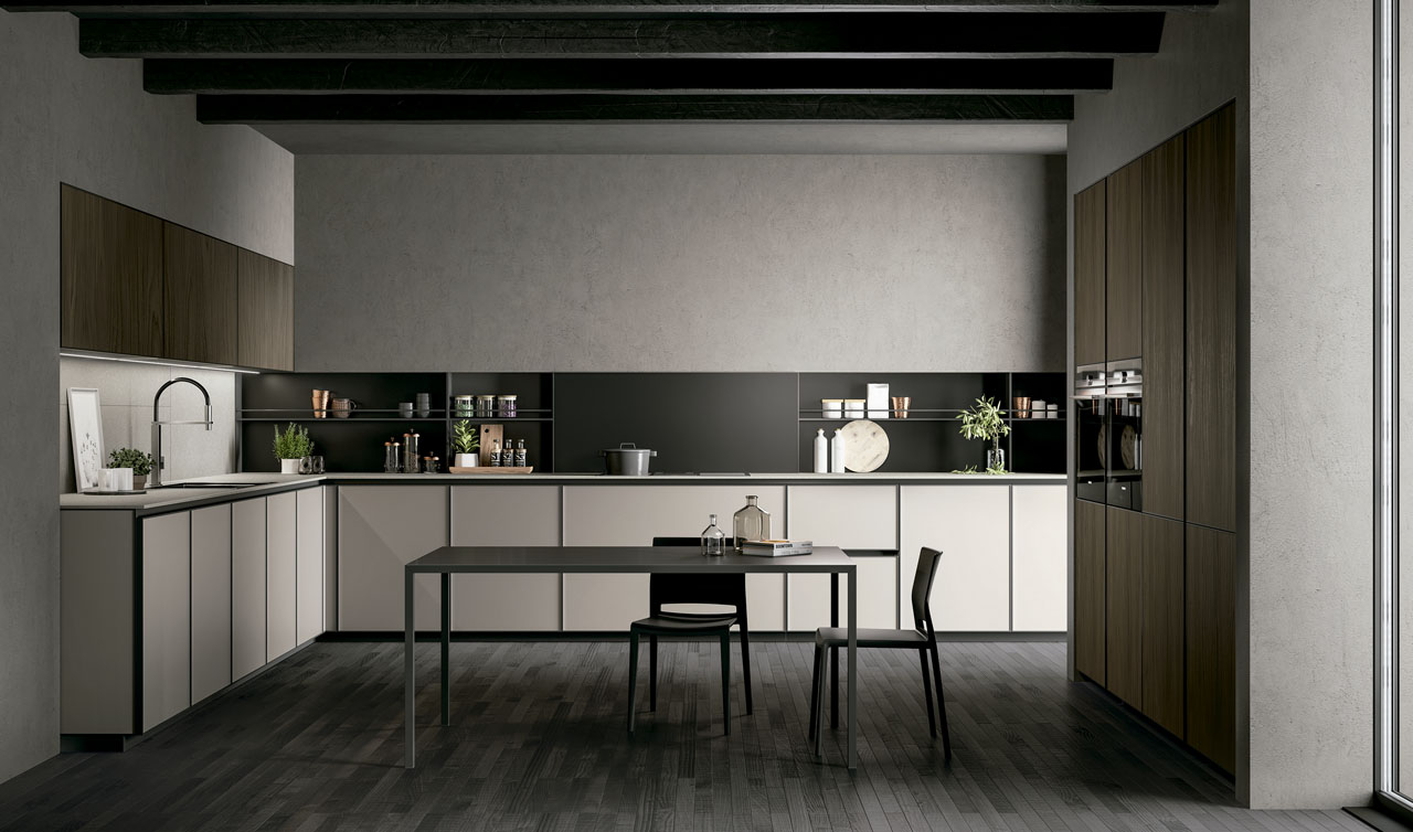 Modern Kitchen Arredo3 Kronos Model 4