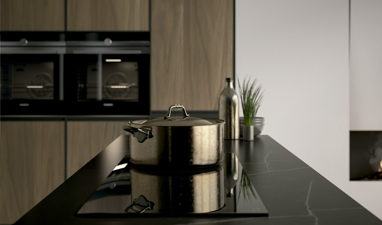 Modern Kitchen Arredo3 Kronos Model 5