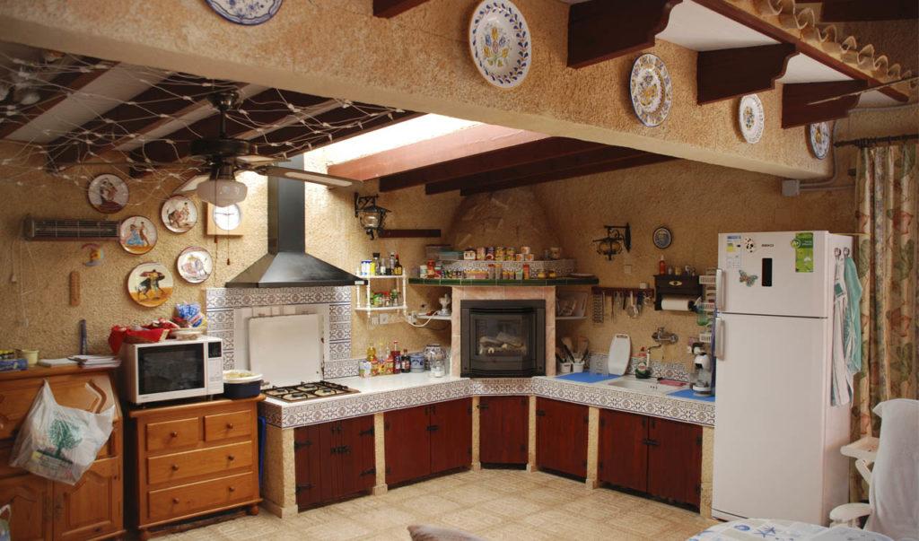 Cocina vieja en Alfaz del Pi