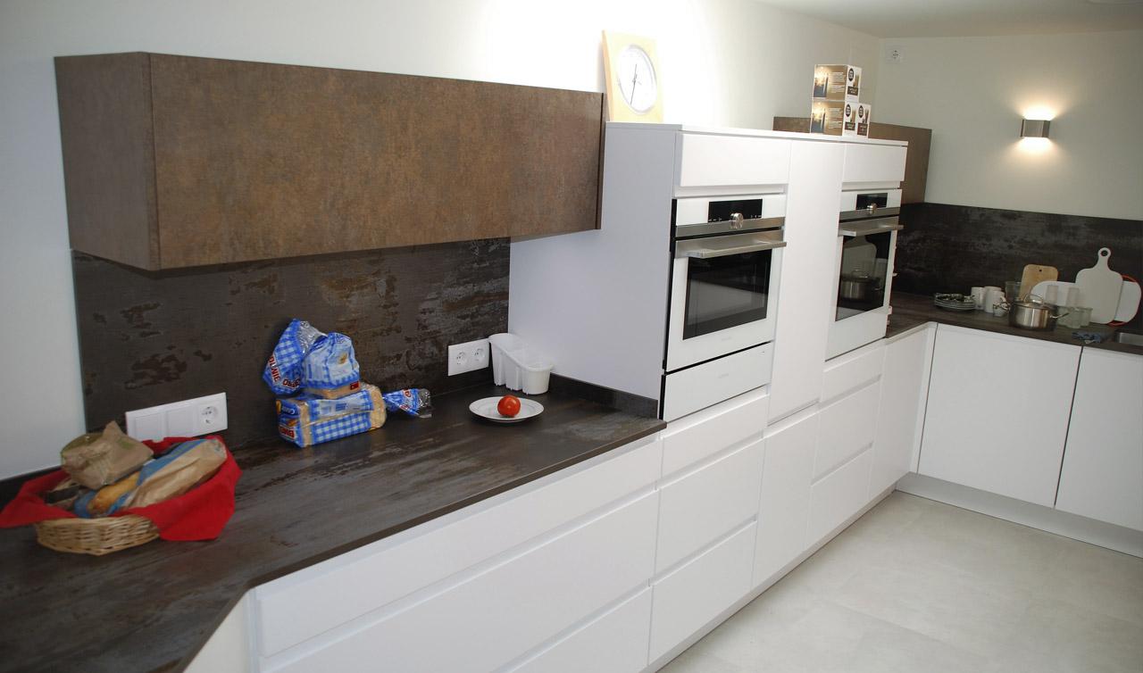 Küchentime Inline Alpine White in Alfaz de Pi