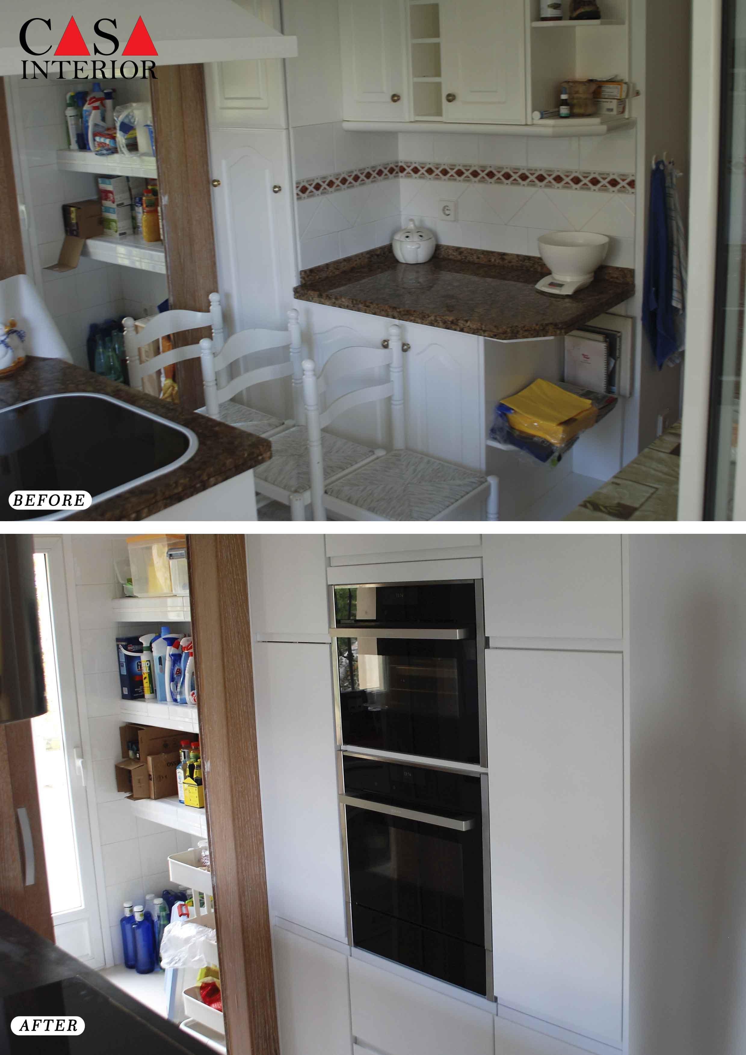 Küchentime Inline Alpine White Altea La Vella