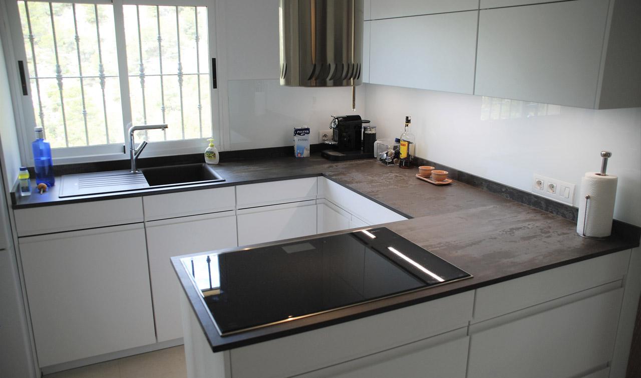 Küchentime Inline White Alpine Altea La Vella - Despues