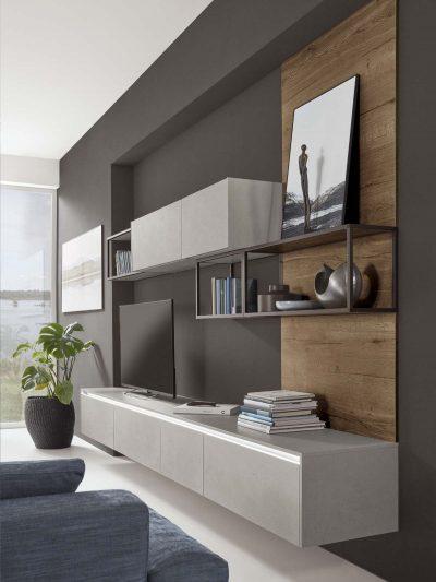 Modern Kitchen Küchentime Cemento 803