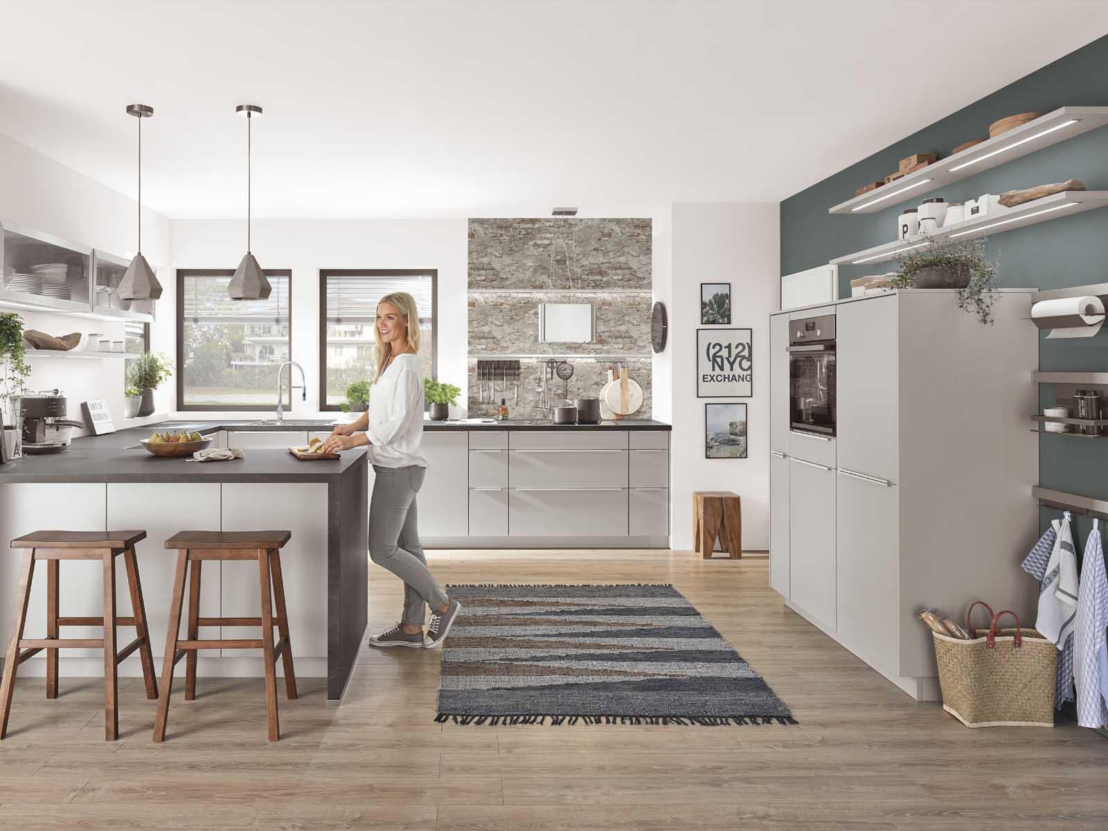 Modern Kitchen Küchentime Fashion 165