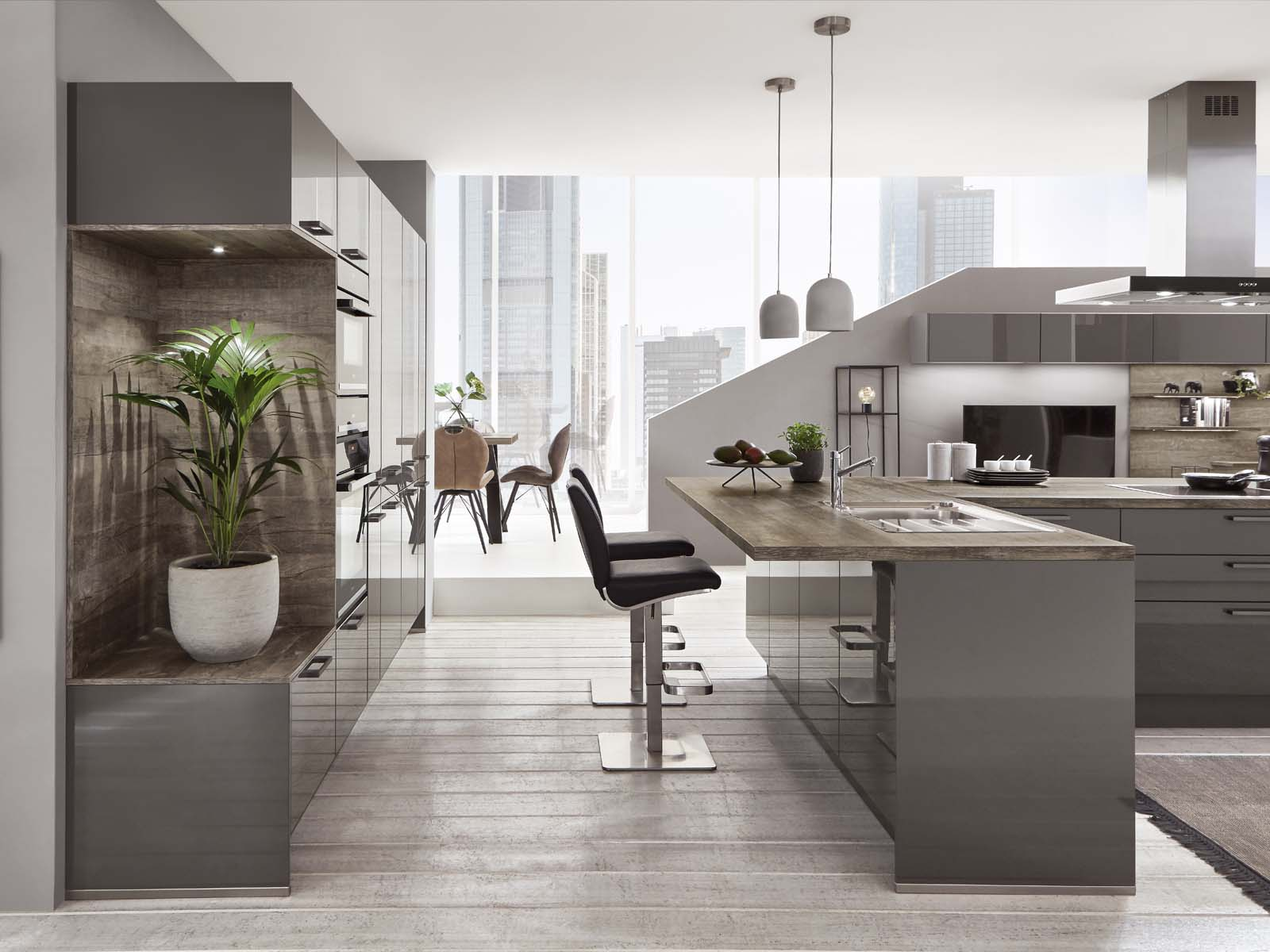 Cocina Moderna Küchentime Flash 453