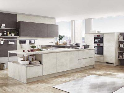 Modern Kitchen Küchentime Riva 891