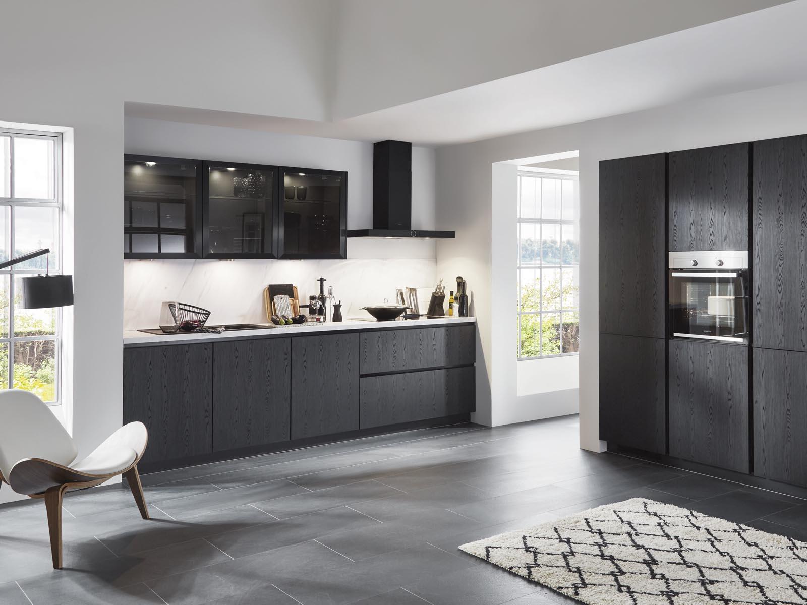Modern Kitchen Küchentime Structura 403