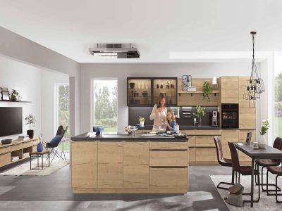 Modern Kitchen Küchentime Structura 405