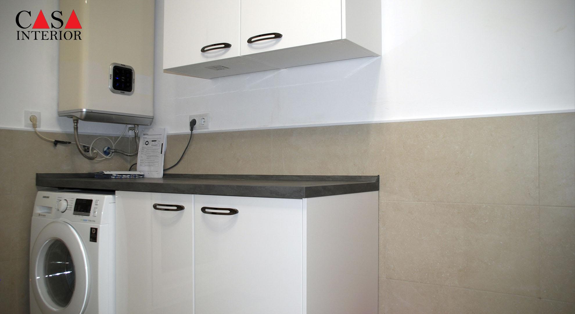 Küchentime Flash Alpine White High Gloss Alfaz del Pi - Laundry Room (1)