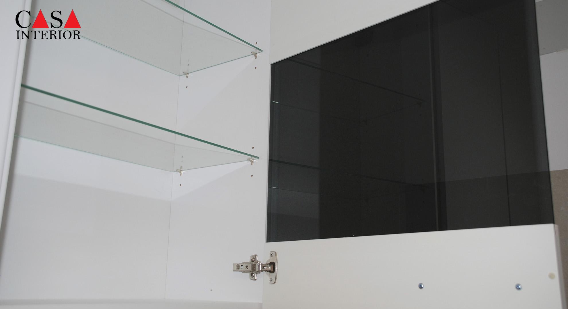 Küchentime Flash Alpine White High Gloss Alfaz del Pi - Wall unit