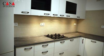 Küchentime Flash Alpine White High Gloss Alfaz del Pi