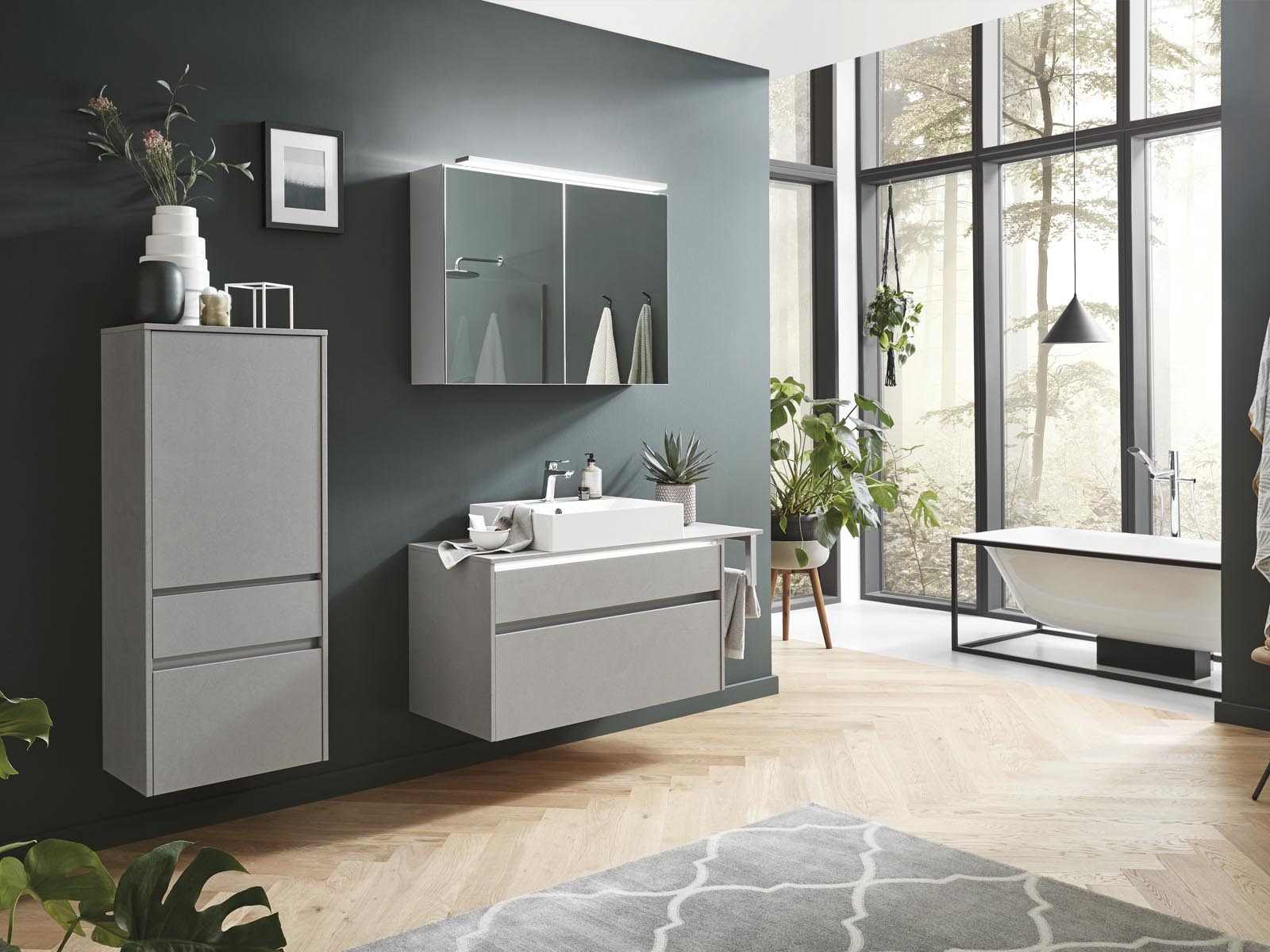 Küchentime Cemento 803 - Bathroom