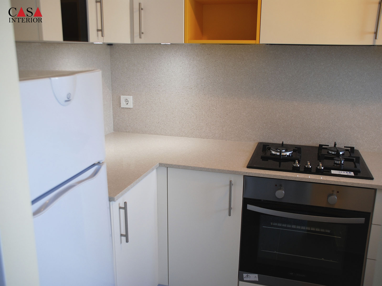 Kitchen Küchentime Laser Magnolia Matt in Albir