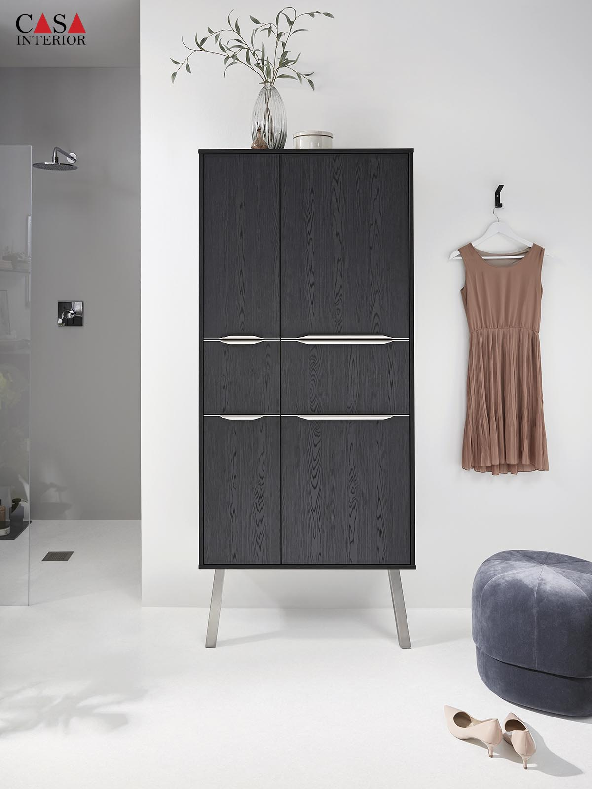 Küchentime Structura Nero Oak Reproduction 403 - Bathroom