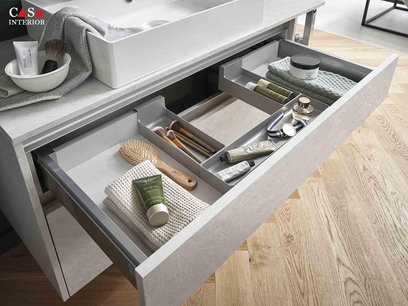 Küchentime StoneArt Stone grey slate reproduction 304 - Bathroom