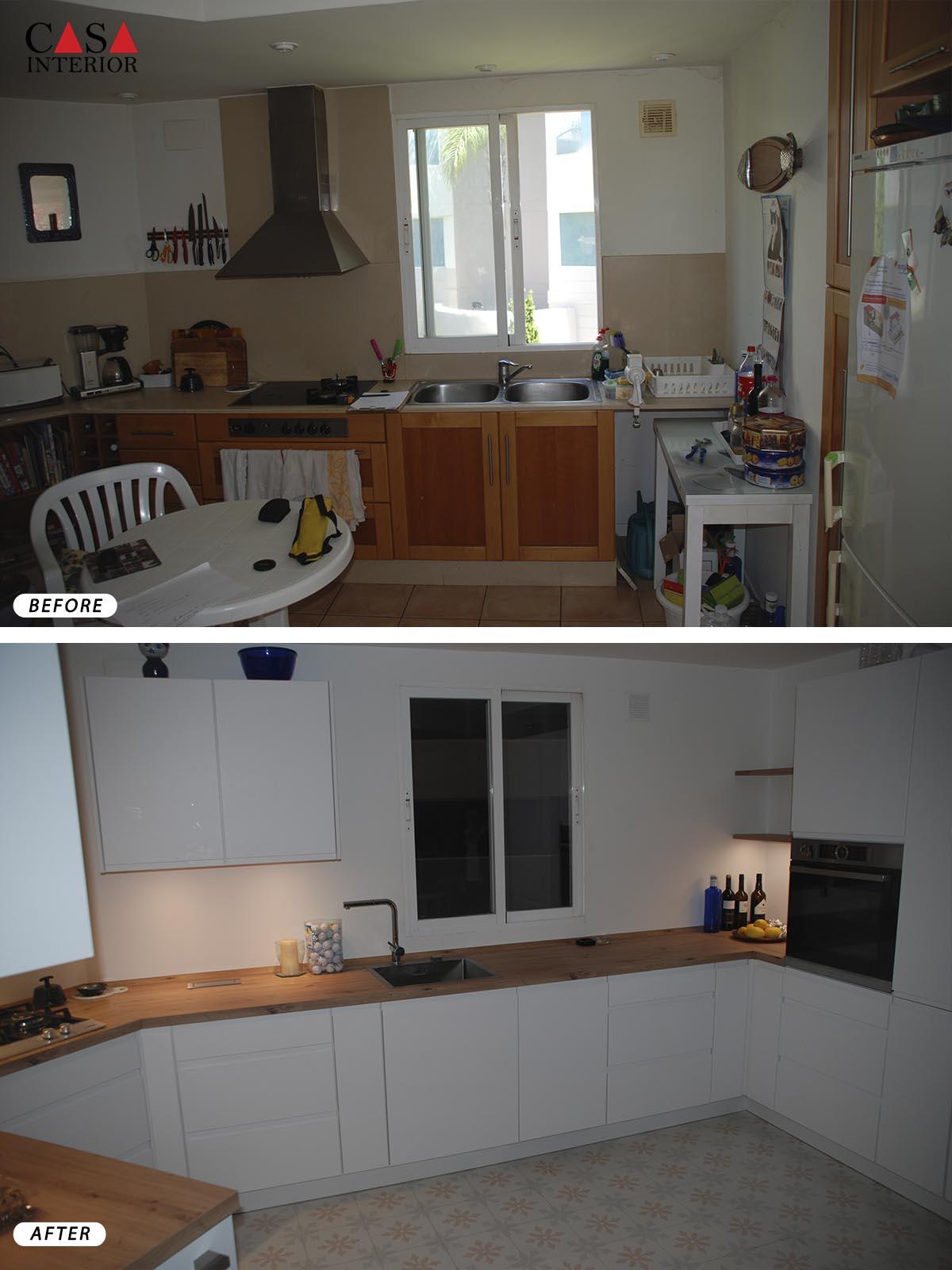 Küchentime Inline Alpine White Altea
