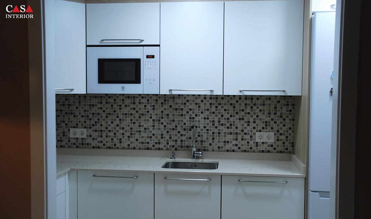 Küchentime Laser White Benidorm