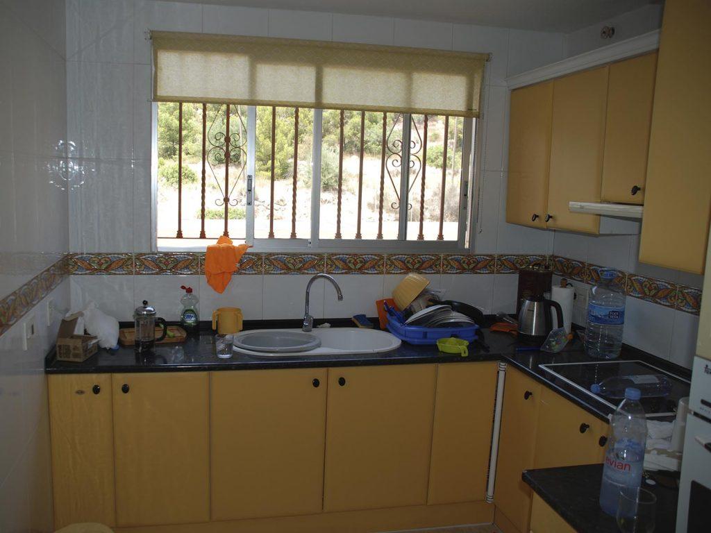 Old kitchen in Benidorm
