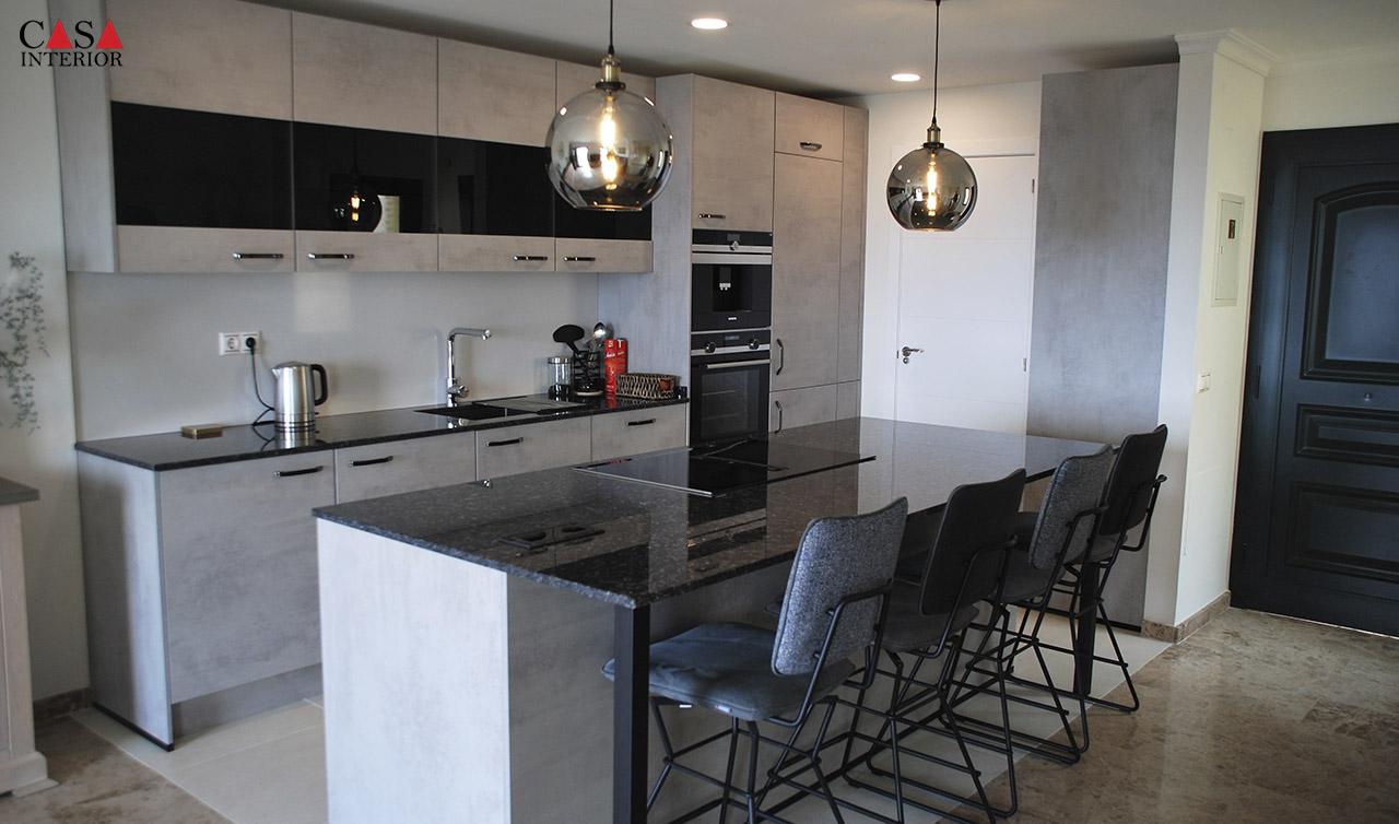 Küchentime Riva Grey Concrete Reproduction in Altea La Vella